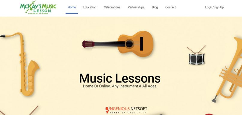 Music Lessoons By IngeniousNetsoft